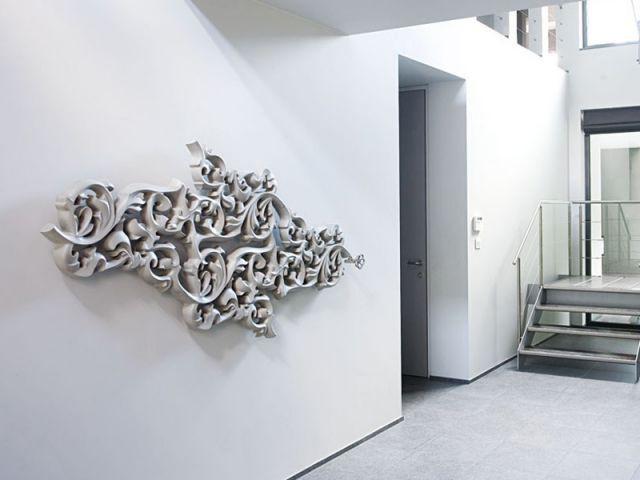Chauffage design tendance 2011 - Radiateur à arabesques - Chauffage design tendance 2011