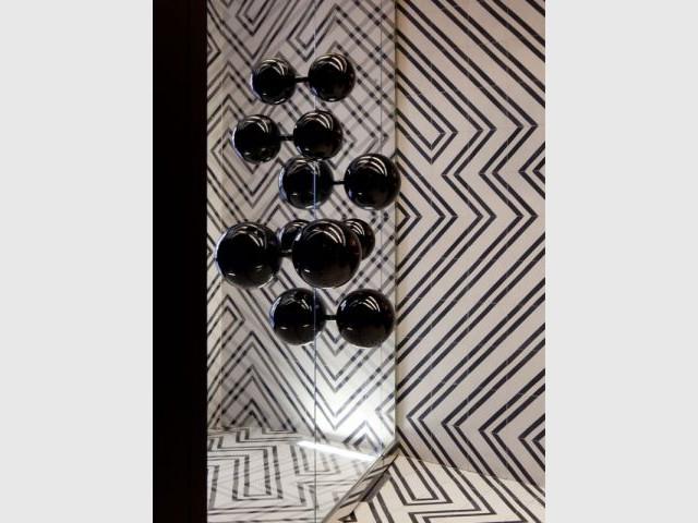 Constellation de boules noires - Hôtel du Ministère