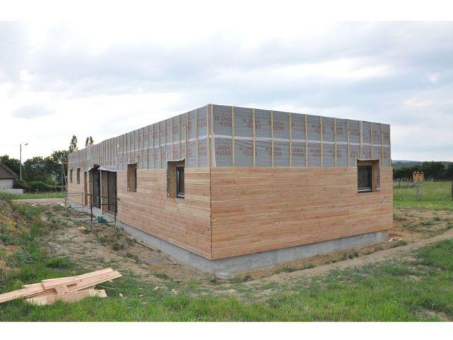une maison bois passive accessible tous. Black Bedroom Furniture Sets. Home Design Ideas