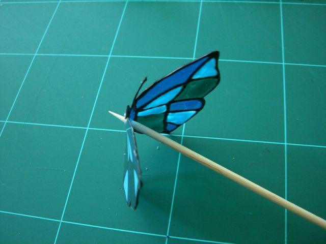 Percer les papillons 1/2 - Les Ateliers de Mireia