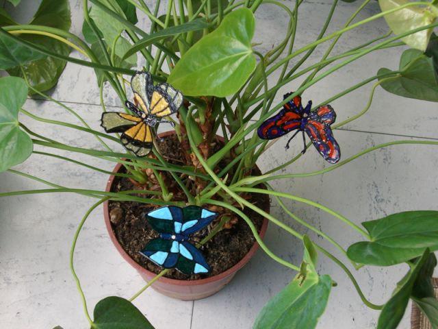 Planter les papillons - Les Ateliers de Mireia