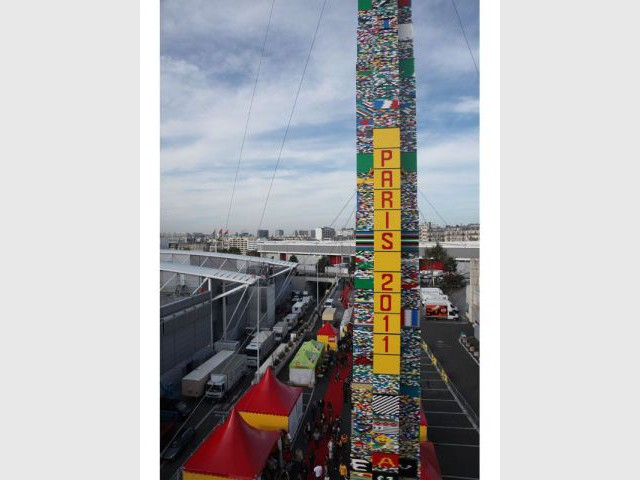 500.000 briques - Tour en Lego