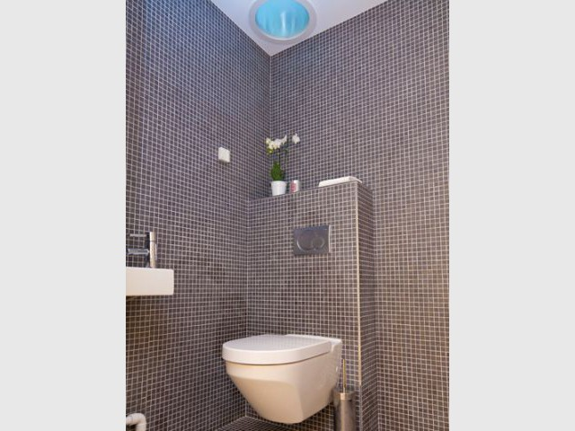 Maison Air et lumière - Toilettes - Maison Air et lumière Velux
