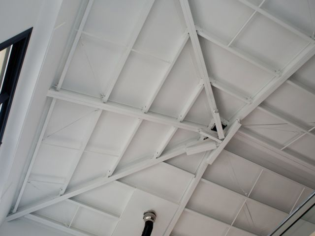 Maison acier - Plafond - Maison acier Nice