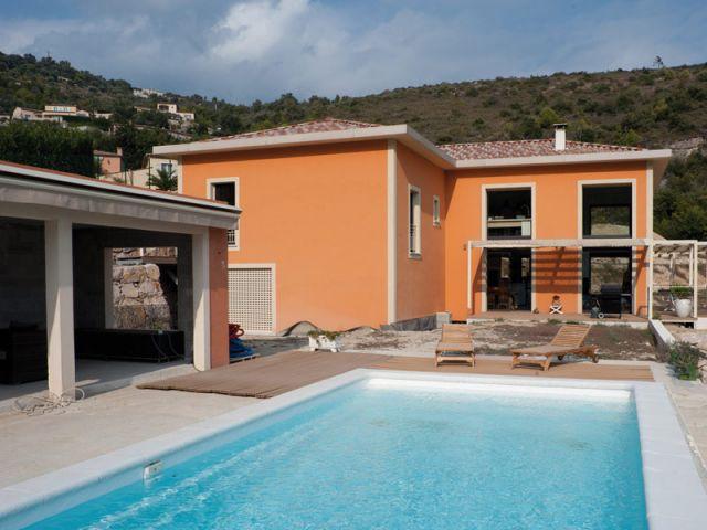 Maison acier - Côté piscine - Maison acier Nice