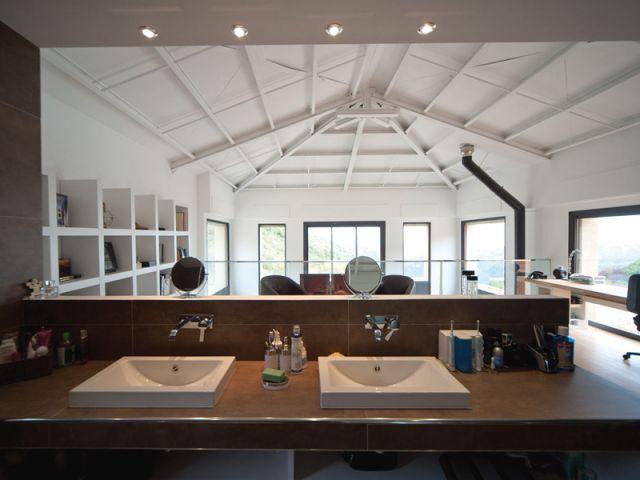 Maison acier - Salle de bains - Maison acier Nice