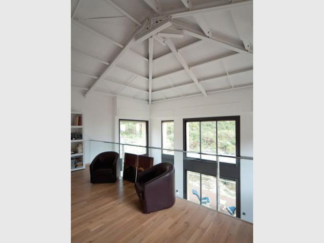 Une ossature en acier pour une grande flexibilité - Maison acier Nice