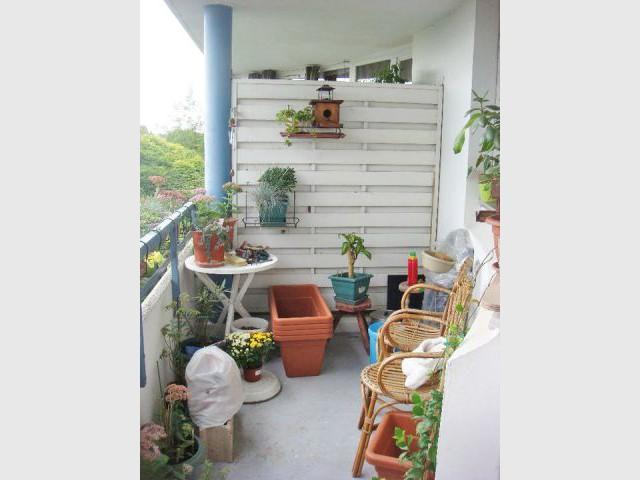 Le balcon avant la rénovation - Avant/après Flowall