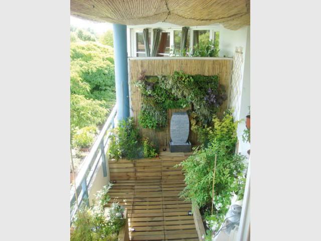Le balcon après la rénovation - Avant/après Flowall