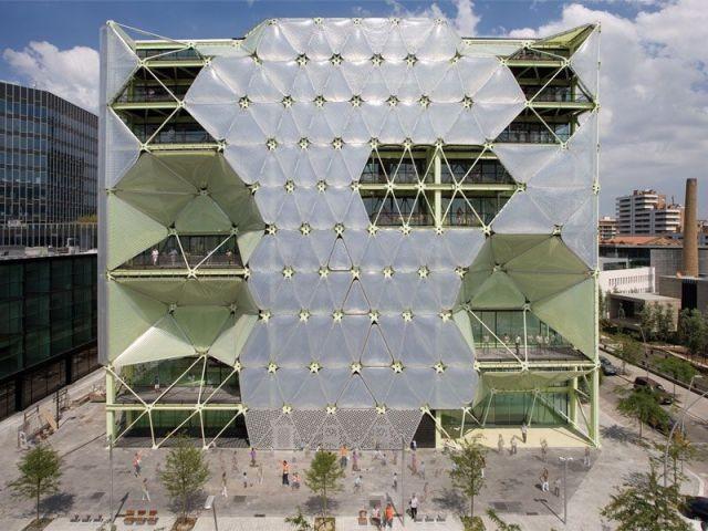 Façade - Media-TIC de Barcelone