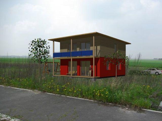 Projet architecte - maison paille