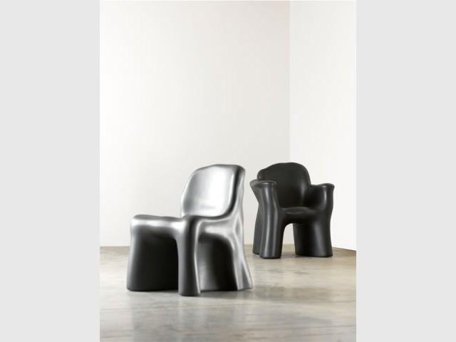 La chaise Dalila2 et Fauteuil Dalila 3  - Gaetano Pesce - cassina
