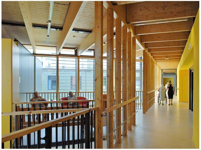 Les espaces collectifs - EHPAD à Grenoble