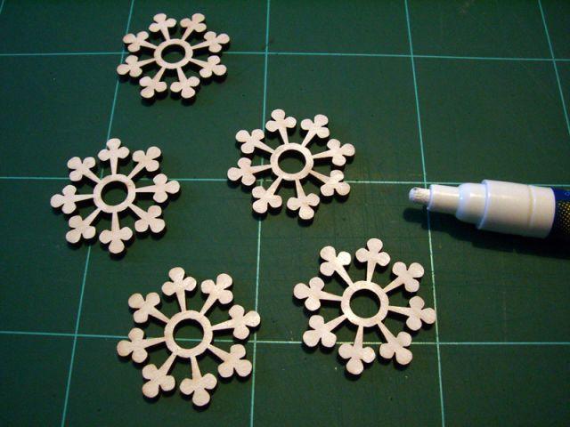Les flocons blancs 2/2 - Les Ateliers de Mireia