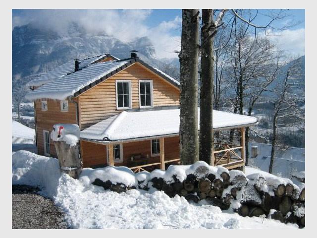 Maison bois - Bois locaux - Reportage chalet bois