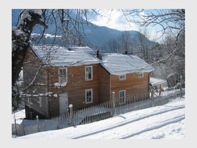 Maison bois - Eloge de la sobriété - Reportage chalet bois