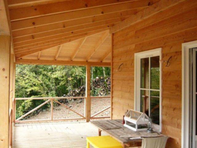 Maison bois - Terrasse - Reportage chalet bois