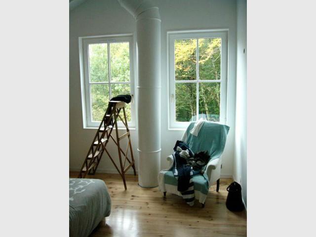 Maison bois - Chambre parentale - Reportage chalet bois