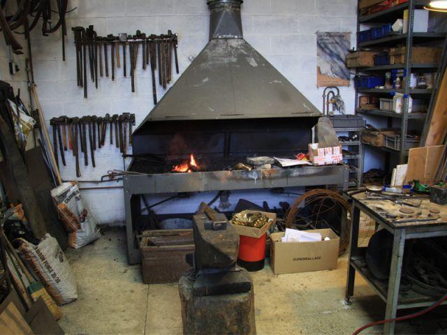 L'atelier de ferronnerie - Delisle