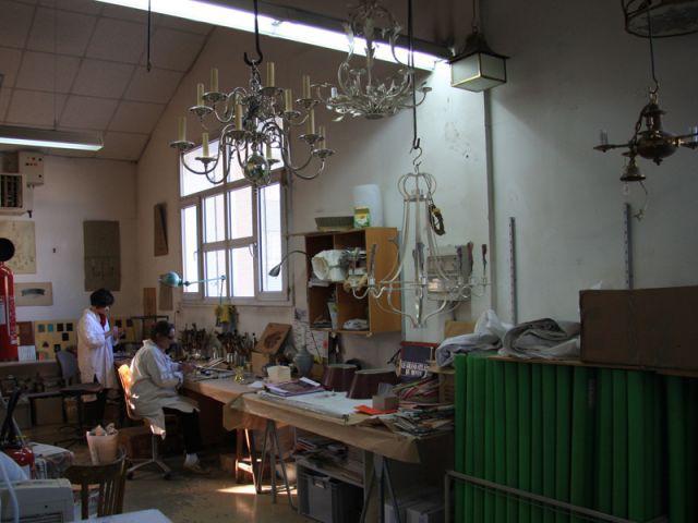 L'atelier des peintres-décorateurs - Delisle