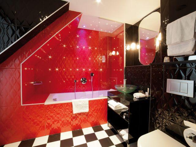 Hôtel Platine - Salle de bains de la suite - Hôtel Platine