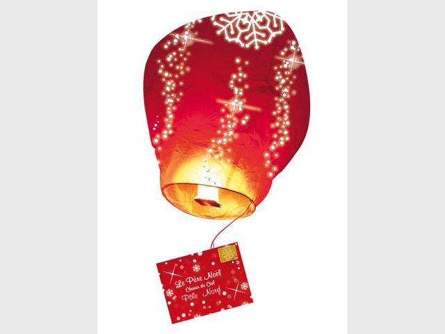 Lanterne lumineuse - noel
