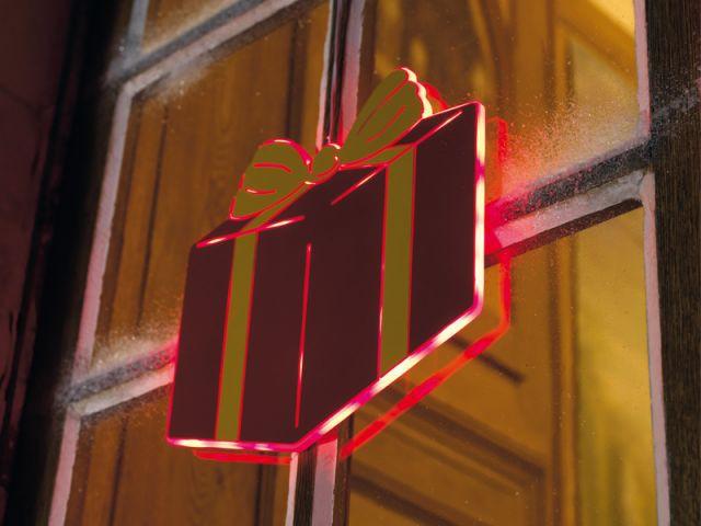 Fenêtres cadeaux - noel