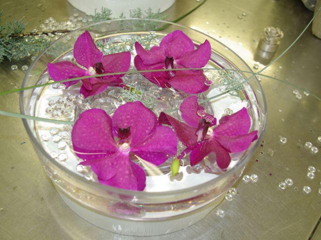 Le fleurissement 3/4 - contenant fleuri