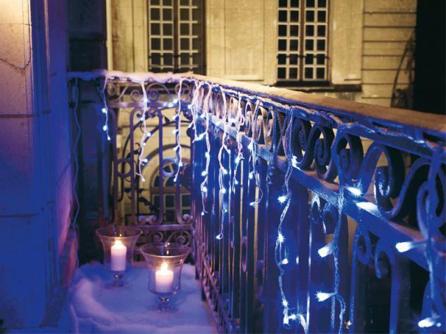 Bleu glacier, bleu nuit - noel