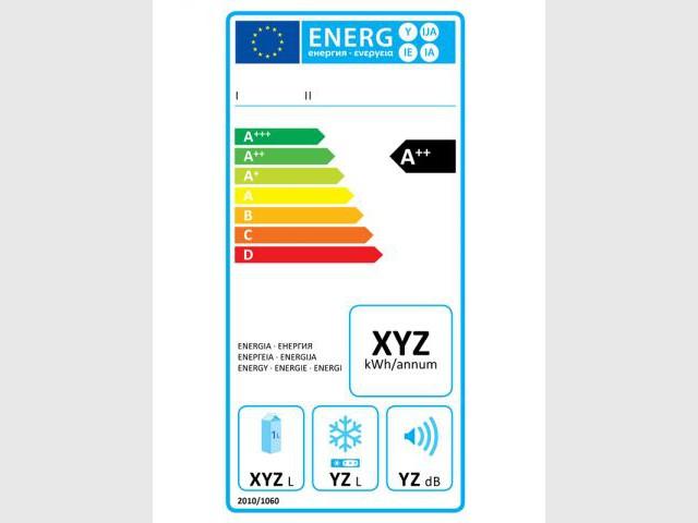 Nouvelle étiquette énergie pour les appareils de froid à compression de vapeur - Nouvelle étiquette énergie