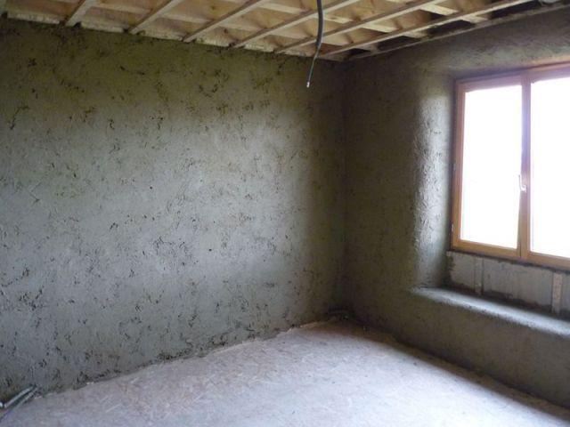 Rondeurs des murs en paille - paille
