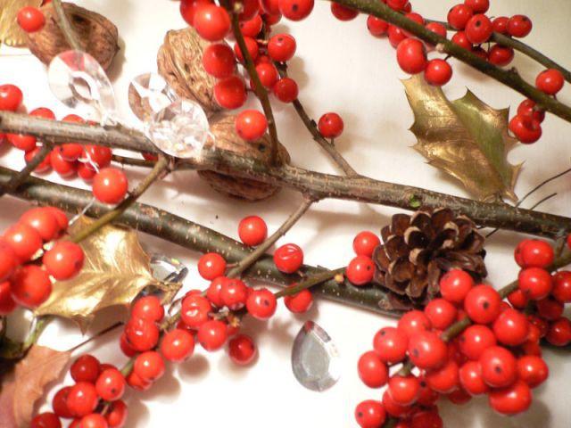 Un chemin de table naturel et festif - Déco table Noël