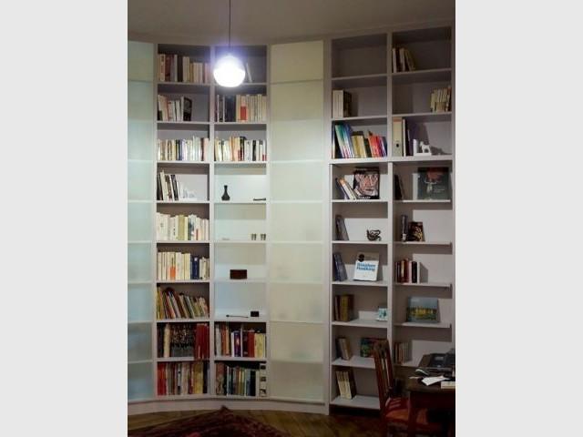 Cloison bibliothèque  - Reportage cloison bibliothèque