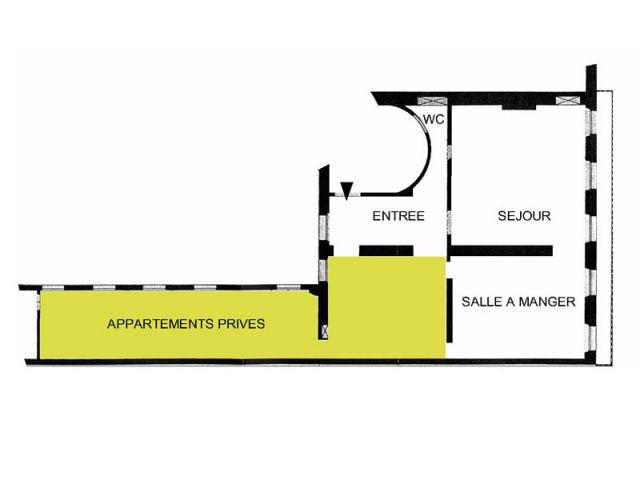 Plan appartement - Reportage cloison bibliothèque