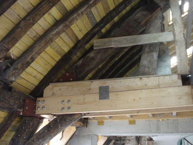 Plafond après