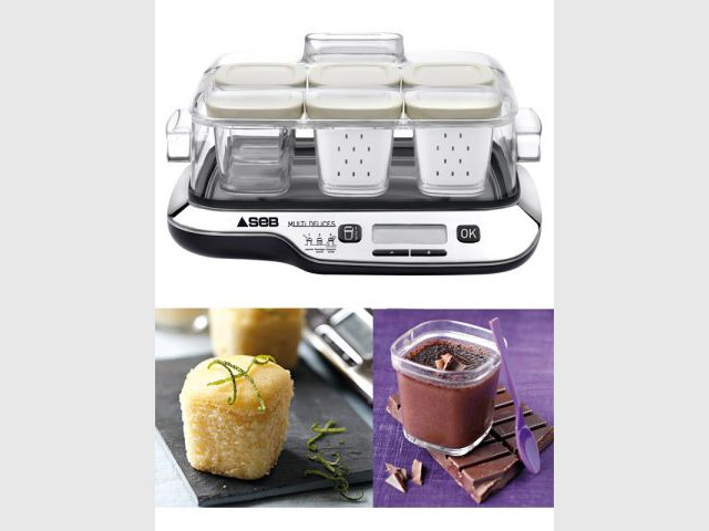 Une yaourtière multifonctions pour les gourmands - Coup de coeur Noël 2011