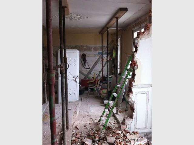 Duplex avec terrasse - Cloisons abattues - Reportage duplex terrasse