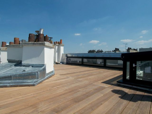Une terrasse au-dessus du duplex - Reportage duplex terrasse