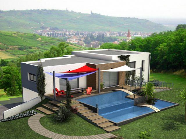 Trophée Ma maison idéale - Trophée Habitat Bleu ciel EDF 2011 - DR