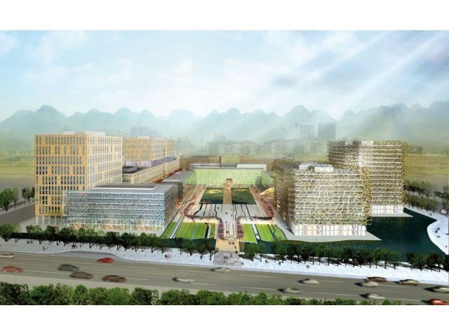 Futur centre des affaires de Dujiangyan