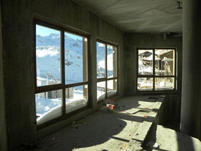 Le gros oeuvre  - Val Thorens Le Hameau du Kashmir