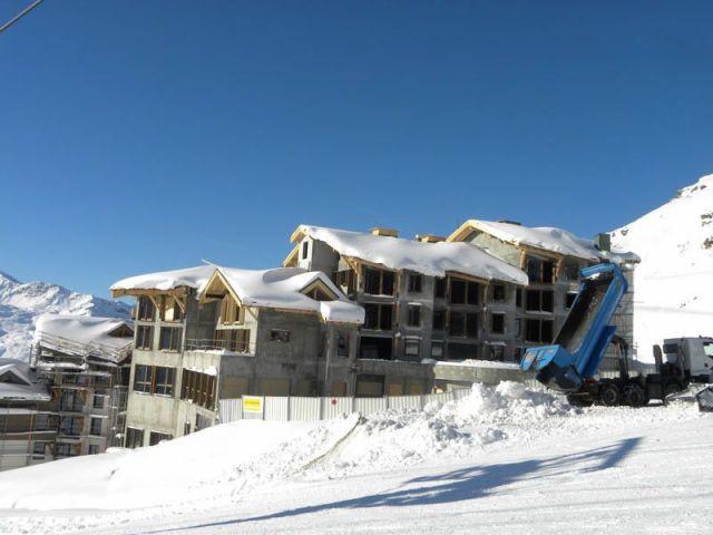 La livraison prévue pour Noël 2012 - Val Thorens Le Hameau du Kashmir