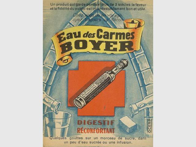 Eau de mélisse des Carmes Boyer - Inovi 2011
