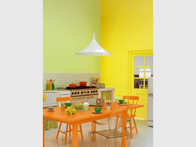 Une cuisine acidulée - Astral - couleurs 2012