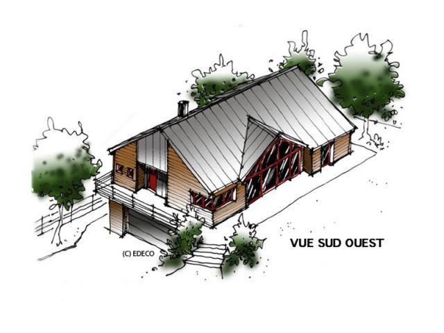 Projet vue Sud/Ouest - Dominique Jean