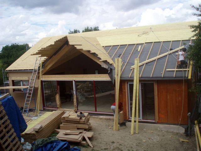 Construction - Reportage maison bois