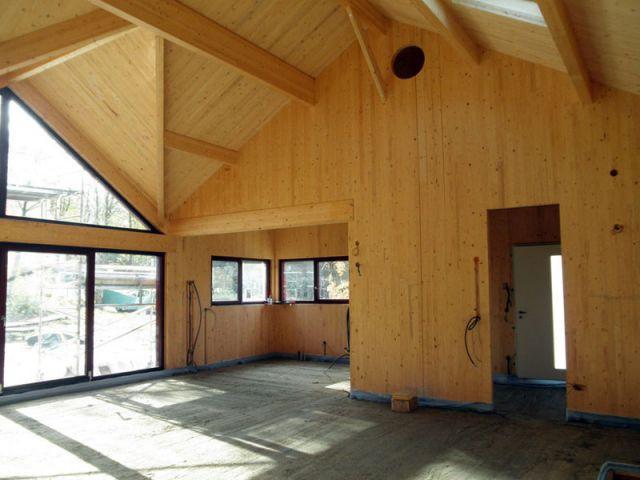 Intérieur 100% bois - Reportage maison bois