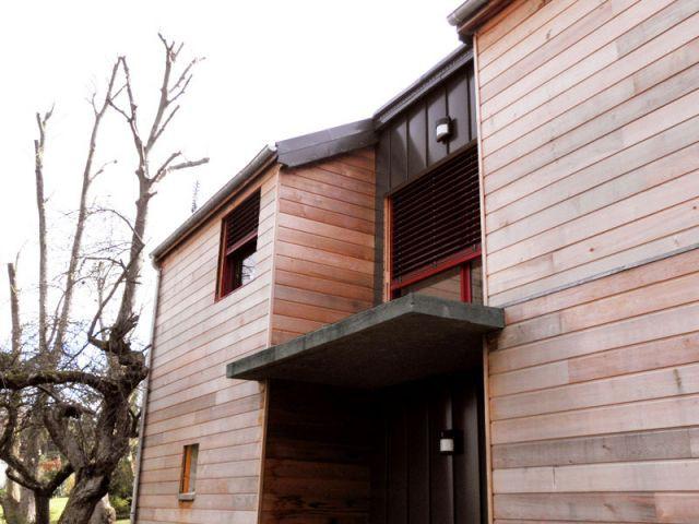 Entrée - Reportage maison bois