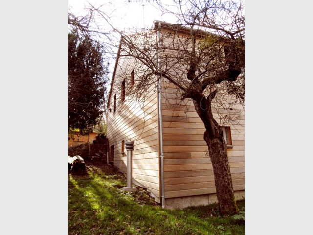 façade est - Reportage maison bois