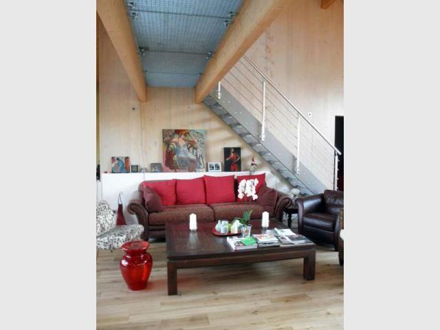 Un étage rajouté - Reportage maison bois